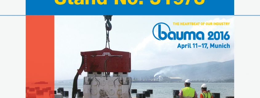 Bauma 2016 - OMS Invitation
