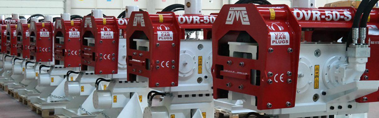Excavator Mounted Vibratory Hammers