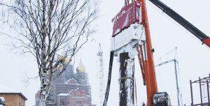 Crane Suspended Pile Driver SVR 80 NF