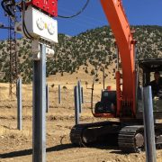 Solar Panel Production with OMS Vibro Hammers