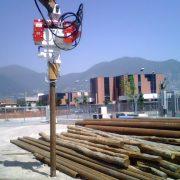 Excavator Mounted Vibratory Pile Drivers
