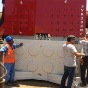 Crane Suspended Vibro Hammer-Suez Canal Egypt