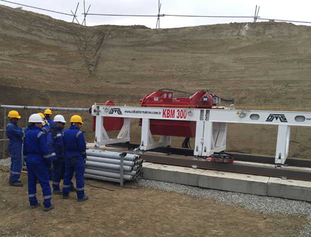 KBM 300 Azerbaijan - Camera Controlled Guided Boring Machine